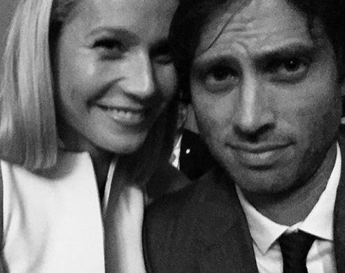 GwynethPaltrow Gwyneth Paltrow e Brad Falchuck selfie di coppia su Instagram