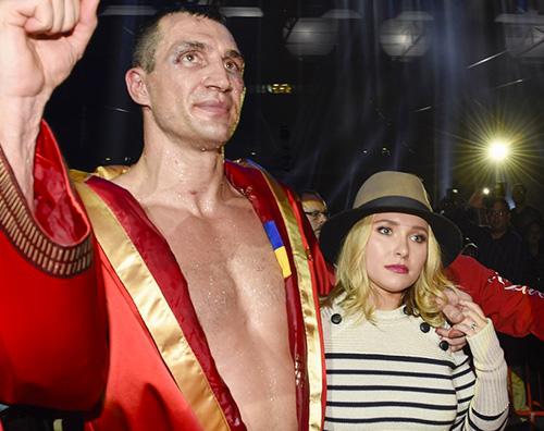 HaydenPanettiere E crisi tra Hayden Panettiere e Wladimir Klitschko?