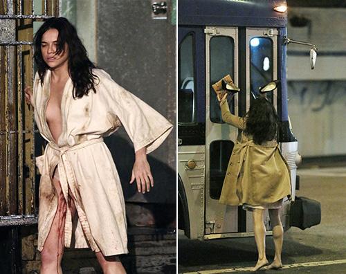 Michelle Rodriguez Michelle Rodriguez sul set di Tomboy
