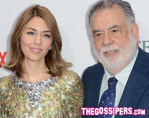 Sofia Coppola Francis Ford Coppola Miley Cyrus presente A Very Murray Christmas a NY