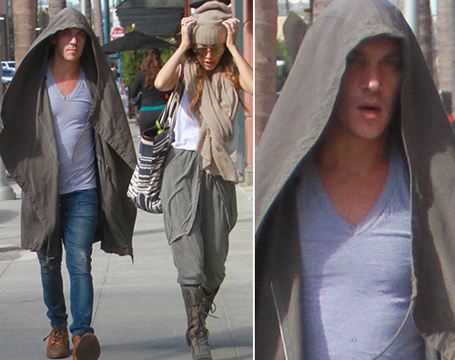 Jonathan Rhys Meyers Jonathan Rhys Meyers si nasconde dai paparazzi a Beverly Hills