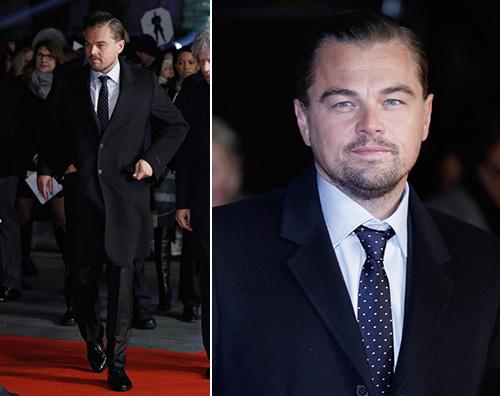 """Leonardo Di Caprio Londra Leonardo DiCaprio presenta """"The Revenant"""" a Londra"""