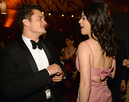 Orlando Bloom Katy Perry 2 Katy Perry e Orlando Bloom intimi all after party dei Golden Globes