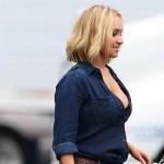 Hayden Panettiere sul set in gran forma | Gossip