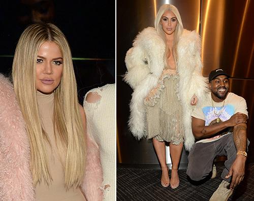 Kardashian Il clan Kardashian  Jenner alla sfilata di Kanye West