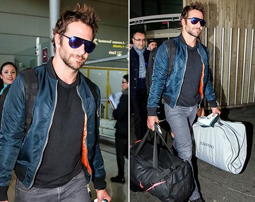Bradley Cooper Bradley Cooper arriva a Parigi