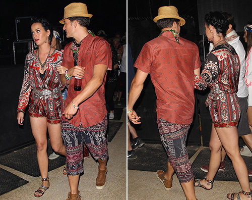 Katy Orlando 2 Katy Perry e Orlando Bloom in coppia al Coachella
