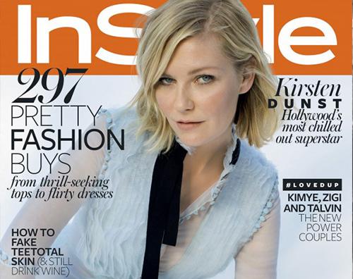 Kirsten Dunst Cover Kirsten Dunst Sono i miei denti a differenziarmi dalle altre