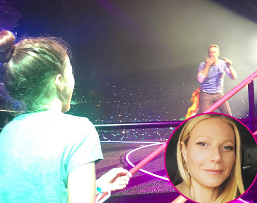 Gwyneth Paltrow Apple Chris Martin Gwyneth Paltrow a Barcellona con Apple e Moses