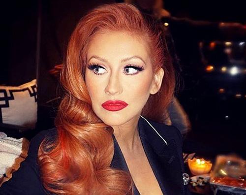 Christina Aguilera come Jessica Rabbit