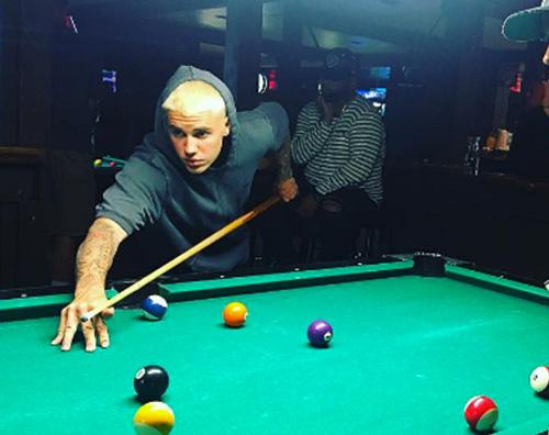 Justin Bieber Justin Bieber capelli ossigenati... di nuovo