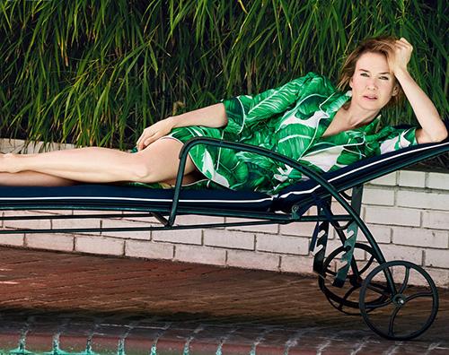 Renee Zellweger 2 Renee Zellweger floreale sulla cover di Vogue