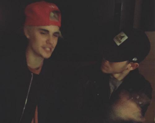 Nick justin Nick Jonas e Justin Bieber, foto insieme sui social