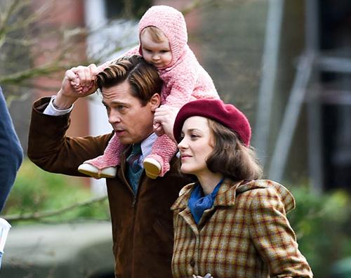 """Brad Pitt Marion Cotillard Marion Cotillard """"Auguro a Brad e Angelina di trovare la pace"""""""