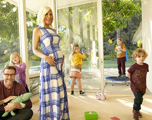 Tori Spelling 2 Tori Spelling incinta del quinto figlio