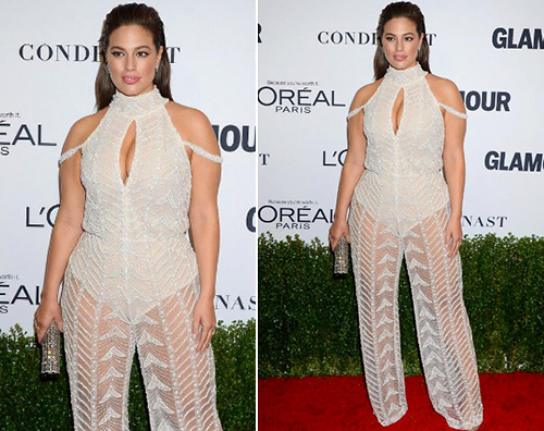 Ashley Graham Ashley Graham è la donna dell'anno per Glamour