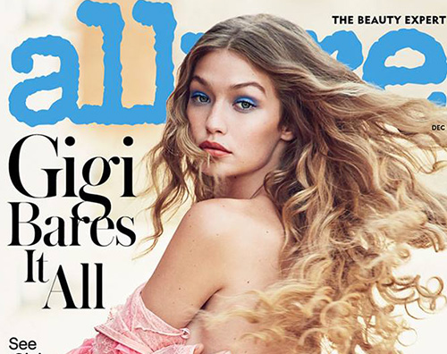 Gigi Cover Gigi Hadid in topless sulla cover di Allure