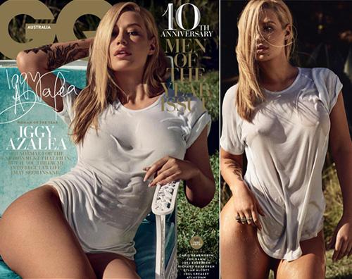 Iggy Azalea è Miss Maglietta Bagnata su GQ | Gossip