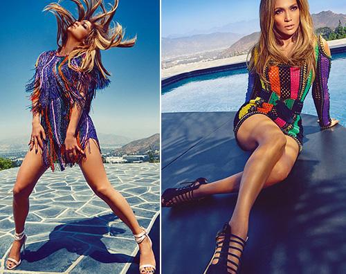 Jennifer Lopez 1 Jennifer Lopez stilosa su Harpers Bazaar