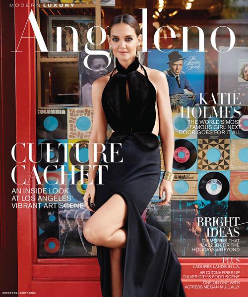 Katie 1 Katie Holmes su Angelo Magazine