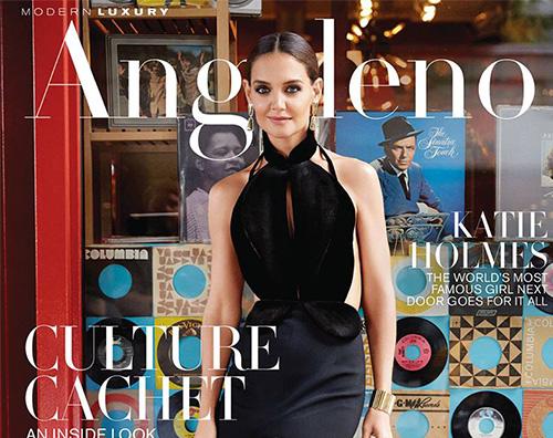 Katie Holmes Katie Holmes su Angelo Magazine