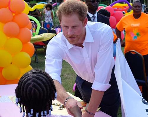 Principe Harry Il Principe Harry arriva ai Caraibi per una visita ufficiale