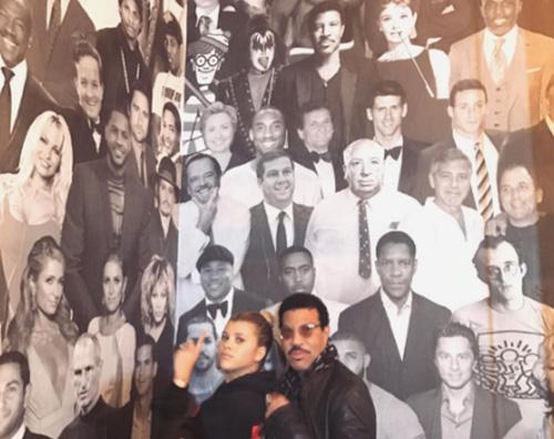 Sophia e Lionel Richie Lionel e Sophia Richie, cena padre figlia a West Hollywood