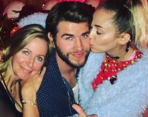 Mailey Liam Leonie Natale in love per Miley e Liam