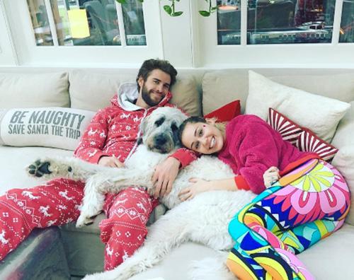 Miley Liam Natale in love per Miley e Liam