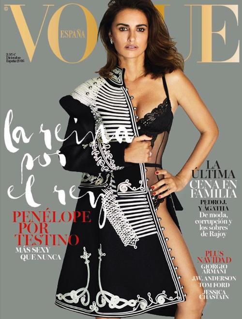 Penelope Cruz 2 Penelope Cruz splendida su Vogue Spagna