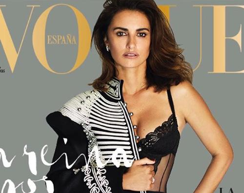 Penelope Cruz Penelope Cruz splendida su Vogue Spagna