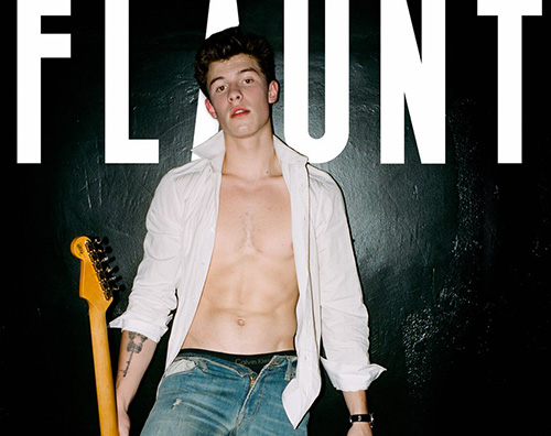 Shawn Mendes Cover Shwan Mendes conquista la cover di Flautn Magazine