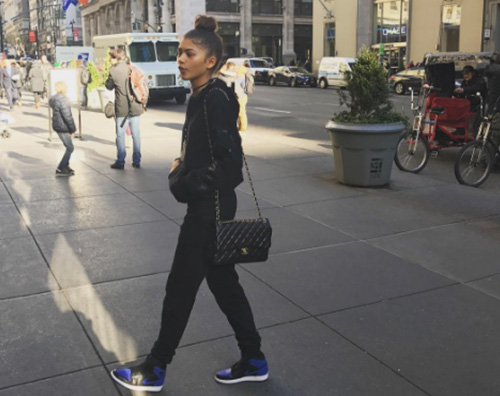 Zendaya Zendaya casual a New York