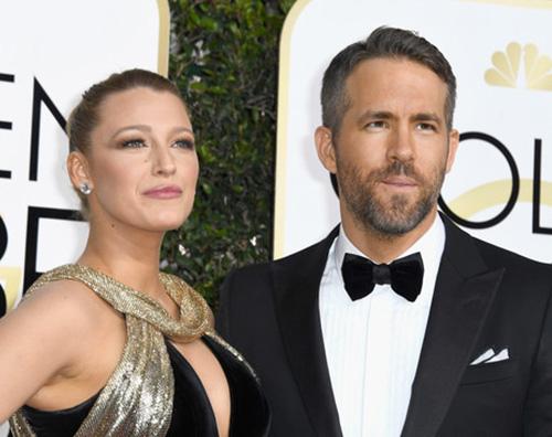 Blake Lively e Ryan Reynolds Blake Lively si prepara ai Golden Globes su Instagram