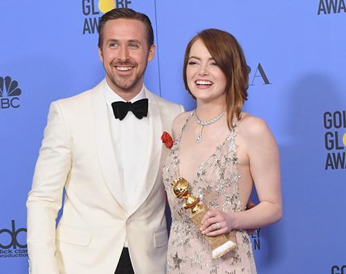 Emma Stone Ryan Gosling Golden Globes 2017: la lista dei vincitori