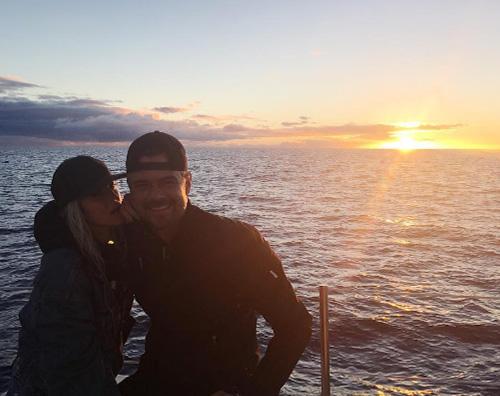Fergie Josh Fergie e Josh Duhamel festeggiano 8 anni di matrimonio