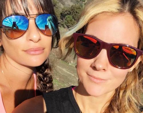 Lea Michele 3 Lea Michele, passeggiata di salute prima dei Golden Globes