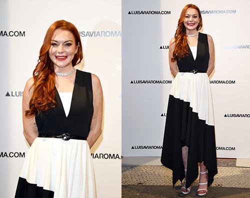 Lindsay Lohan Lindsay Lohan a Firenze per il ritorno sul red carpet