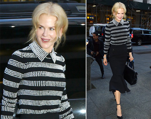 Nicole Kidman Nicole Kidman, look autunnale a New York