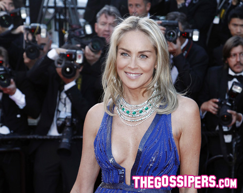Cannes 2013: Sharon Stone splendida sul red carpet