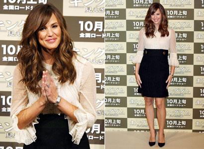 jg giappone Jennifer si inchina al Giappone