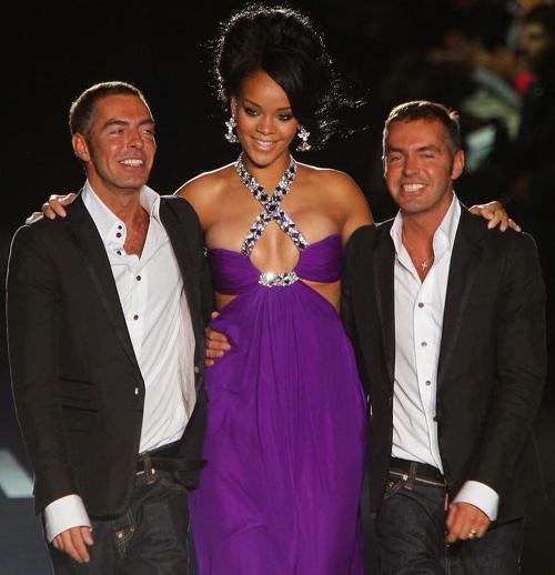 rihannads2 1 Rihanna in passerella per DsquareD