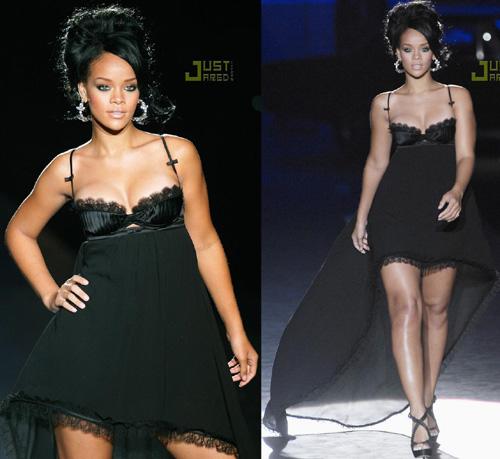 rihannads2 2 Rihanna in passerella per DsquareD