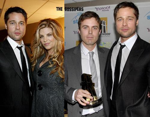 bradwith People @ Hollywood Awards 2007