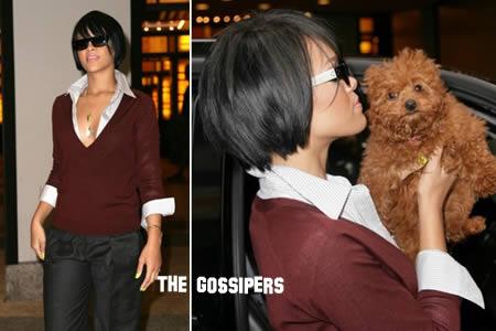 canerihanna21 Quanto è tenero il cane di Rihanna?