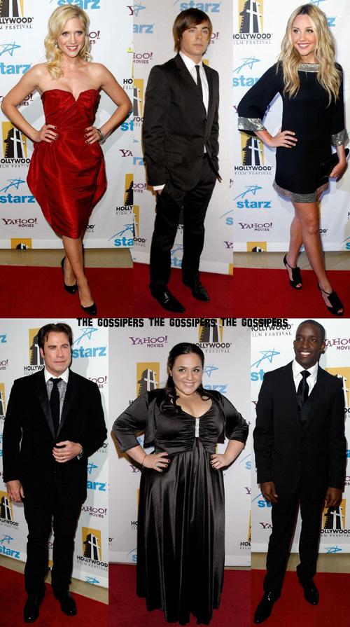 hairspraycast People @ Hollywood Awards 2007