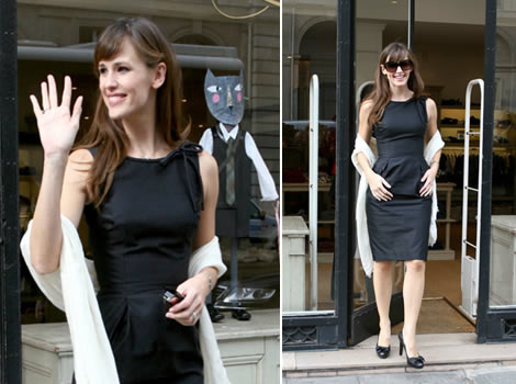 jennifergarnerparigina Jennifer Garner a Parigi per The Kingdom