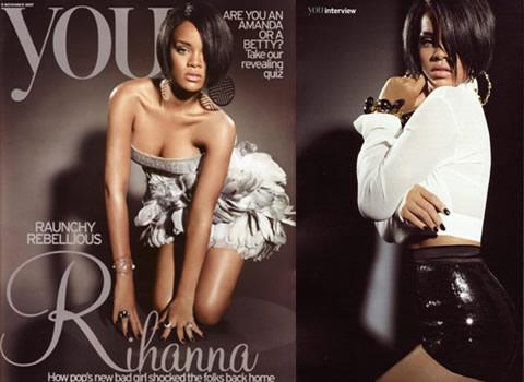 rihannamagazu2 Rihanna intervistata da YOU