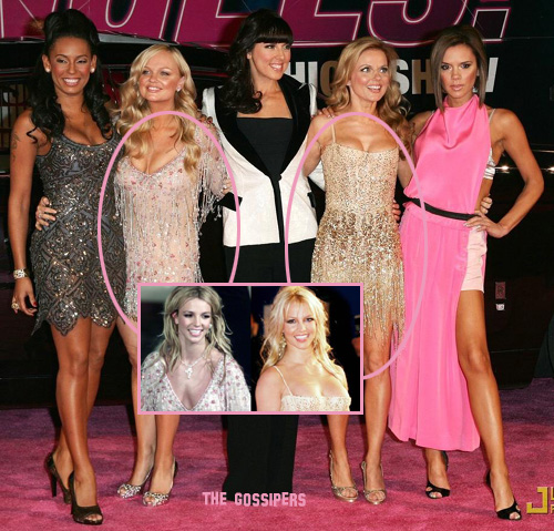 spice girls victorias secret pink carpet 01 copia Spice Girls VS Britney Spears