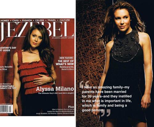 alyssajezebel Alyssa Milano è una ragazza vecchio stampo